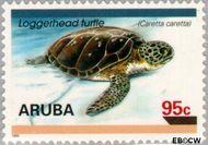 Aruba AR 166  1995 Schildpadden 95 cent  Gestempeld