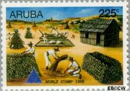 Aruba AR 217  1998 Wereldzegel 225 cent  Gestempeld