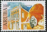 Aruba AR 378  2007 Historische musea 100 cent  Gestempeld