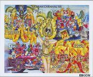 Aruba AR 419  2009 Carnaval  cent  Gestempeld