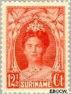 Suriname SU 119  1927 Gewijzigd jubileum-type 12½ cent  Gestempeld