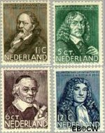 Nederland NL 296#299  1937 Bekende personen   cent  Gestempeld