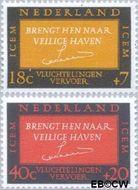 Nederland NL 856#857  1966 ICEM  cent  Gestempeld