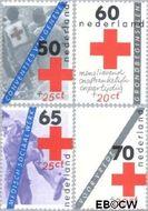 Nederland NL 1289#1292  1983 Rode Kruis- doelstellingen  cent  Gestempeld