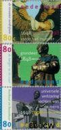 Nederland NL 1753#1755  1998 Jubilea  cent  Gestempeld