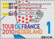 Nederland NL 2727  2010 Tour de France 1 cent  Gestempeld