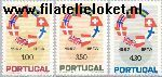 POR 1043#1045 Postfris 1967 E.F.T.A.