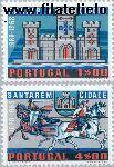 POR 1109#1110 Postfris 1970 Stadsrechten Santarém