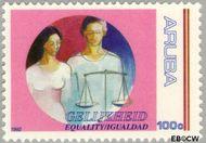 Aruba AR 106  1992 Gelijkheid 100 cent  Gestempeld