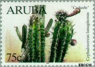 Aruba AR 227  1999 Cactussen 75 cent  Gestempeld