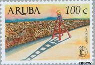 Aruba AR 287  2002 UPAEP 2002 100 cent  Gestempeld