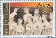 Aruba AR 297  2003 De Trupialen 30 cent  Gestempeld