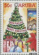 Aruba AR 327  2004 Decemberzegels 50 cent  Gestempeld