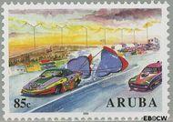Aruba AR 337  2005 Autoracen 85 cent  Gestempeld