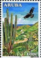 Aruba AR 370  2006 Nationaal Park Arikok 100 cent  Gestempeld