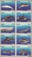 Aruba AR 602#611  2012 Zeezoogdieren  cent  Postfris