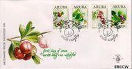 Aruba AR E53  1994 Bloemen  cent  FDC zonder adres