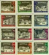 Berlin ber 218#229  1962 Oud Berlijn  Postfris