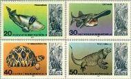 Berlin ber 552#555  1977 Aquarium  Postfris