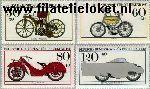Bundesrepublik BRD 1168#1171  1983 Motorfietsen  Postfris