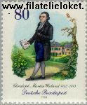 Bundesrepublik BRD 1183#  1983 Wieland, Christoph Martin  Postfris
