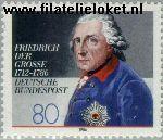 Bundesrepublik BRD 1292#  1986 Koning Friedrich dem Grossen  Postfris