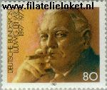Bundesrepublik BRD 1308#  1987 Erhard, Ludwig  Postfris