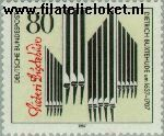Bundesrepublik BRD 1323#  1987 Buxtehude, Dietrich  Postfris