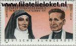 Bundesrepublik BRD 1352#  1988 Heiligverklaring Edith Stein en Rupert Mayer  Postfris