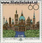 Bundesrepublik BRD 1491#  1991 Hannover  Postfris