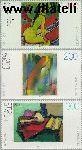 Bundesrepublik BRD 1843#1845  1996 Schilderkunst uit de 20e eeuw  Postfris