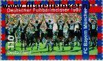 Bundesrepublik BRD 1958#  1997 Voetbalkampioen 1997- FC Bayern München  Postfris