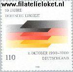 Bundesrepublik BRD 2142#  2000 Duitse eenheid  Postfris