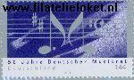 Bundesrepublik brd 2346#  2003 Duitse Muziekraad  Postfris