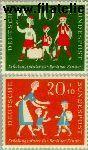 Bundesrepublik BRD 250#251  1957 Berlijnse kinderen  Postfris