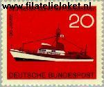 Bundesrepublik BRD 478#  1965 Vereniging ter redding van schipbreukelingen  Postfris