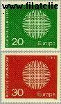 Bundesrepublik BRD 620#621  1970 C.E.P.T.- Vlechtwerk  Postfris