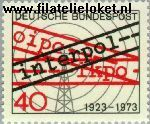 Bundesrepublik BRD 759#  1973 Interpol  Postfris