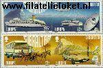 Gibraltar gib 544#547  1988 C.E.P.T.- Transport en communicatie  Postfris
