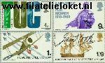 Groot-Brittannië grb 485#488  1968 Jubilea en herdenkingen  Postfris