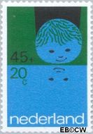 Nederland NL 1000  1971 Elementen van de Kinderwereld 45+20 cent  Postfris