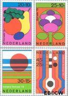 Nederland NL 1003#1006  1972 Floriade en Holland festival  cent  Gestempeld