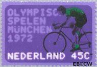 Nederland NL 1014  1972 Olympische Spelen- München 45 cent  Gestempeld