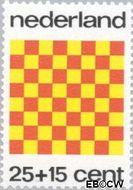Nederland NL 1038  1973 Spelletjes 25+15 cent  Gestempeld