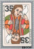 Nederland NL 1075  1975 Int. Jaar van de Vrouw 35 cent  Gestempeld
