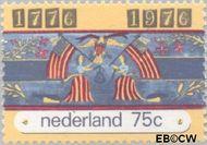 Nederland NL 1091#  1976 Onafhankelijkheid U.S.A.  cent  Gestempeld