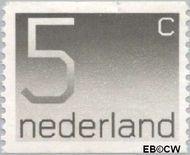 Nederland NL 1108a  1976 Cijfer type 'Crouwel' 5 cent  Postfris
