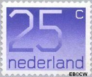Nederland NL 1110  1976 Cijfer type 'Crouwel' 25 cent  Postfris