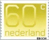 Nederland NL 1115a  1981 Cijfer type 'Crouwel' 60 cent  Gestempeld