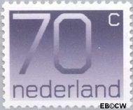 Nederland NL 1117  1991 Cijfer type 'Crouwel' 70 cent  Gestempeld